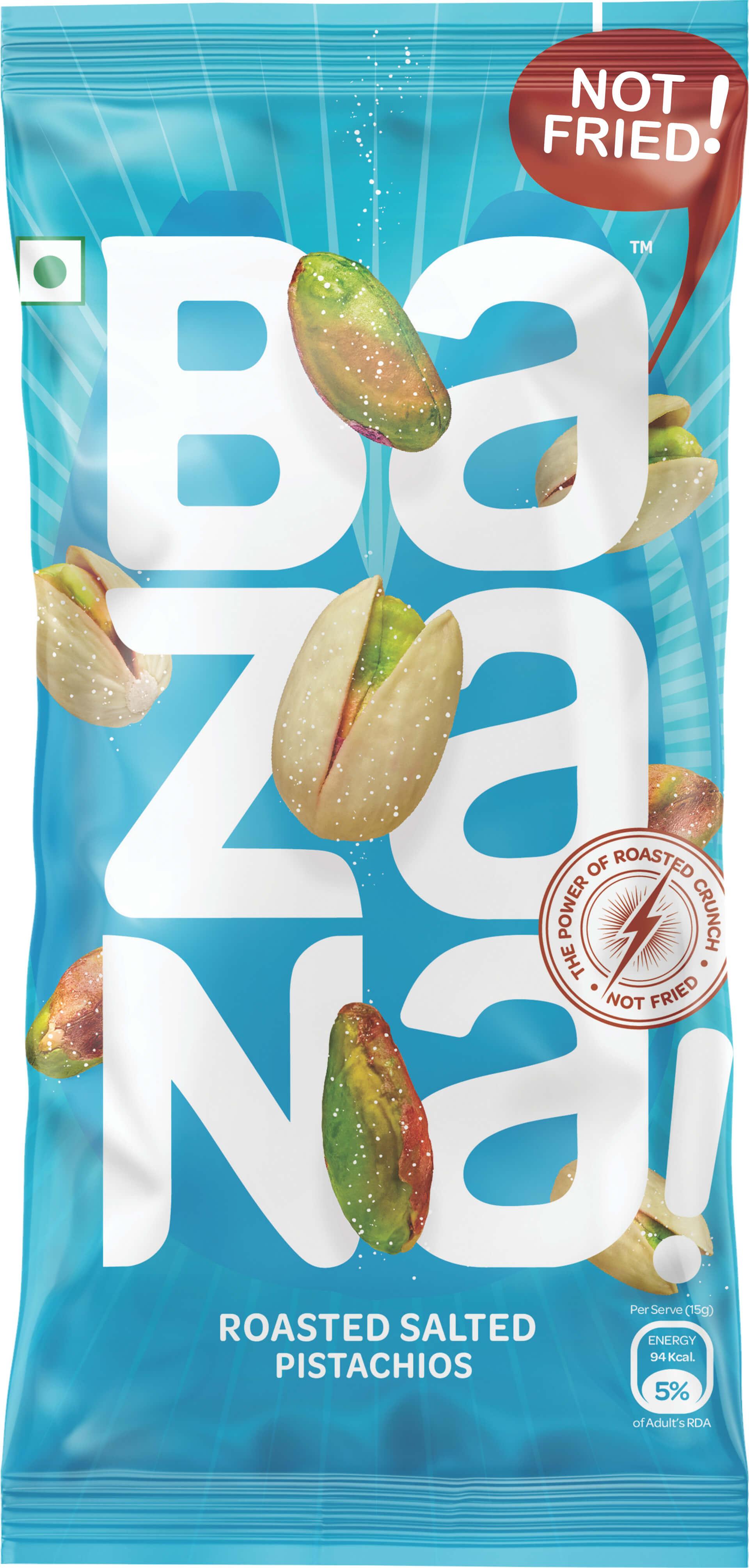 Roasted nut snacks
