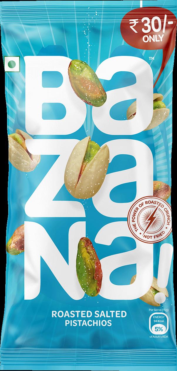 Bazana!: Healthy Roasted Snacks  Not fried! No Oil Snacks!